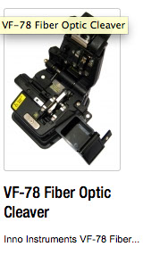VF-78 Fiber Optic Cleaver